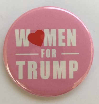 Women For Trump - Trump 2020 Campaign Button