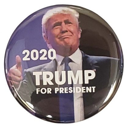 Donald Trump Thumbs Up 2020 Campaign Button