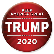 Donald Trump for President 2020 Campaign Button