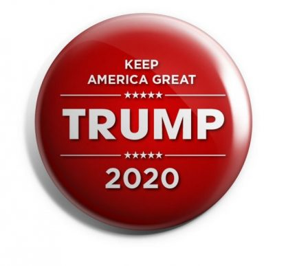 Donald Trump for President 2020 Campaign Button - Trump2020-505