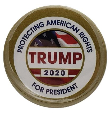 Protecting American Rights - Trump 2020 Campaign Button