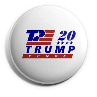 TP 20 Trump-Pence Campaign Button