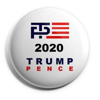 TP 2020 Trump-Pence Campaign Button