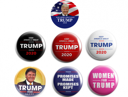 Trump 2020 Set of 6 + FREE Women for Trump