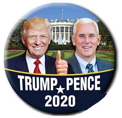 Trump-Pence 2020 whitehouse