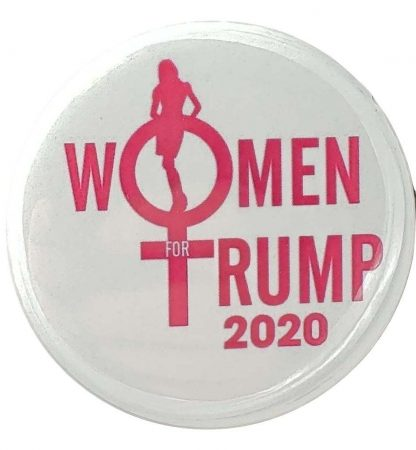 women for trump 2020 buttons