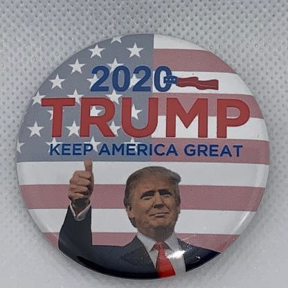 Trump 2020 - Keep America Great Campaign Button