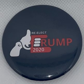 """Gun Owners for Trump"" (Black) – Re-elect Trump 2020 Buttons"
