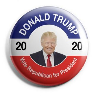 Donald Trump 2020 - Vote Republican for President Campaign Button