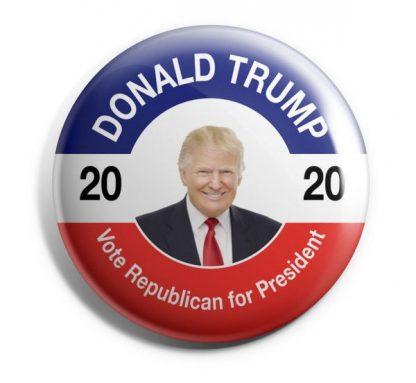 Donald Trump 2020 - Vote Republican for President Campaign Button