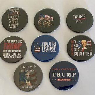 Trump 2020 Set of 8
